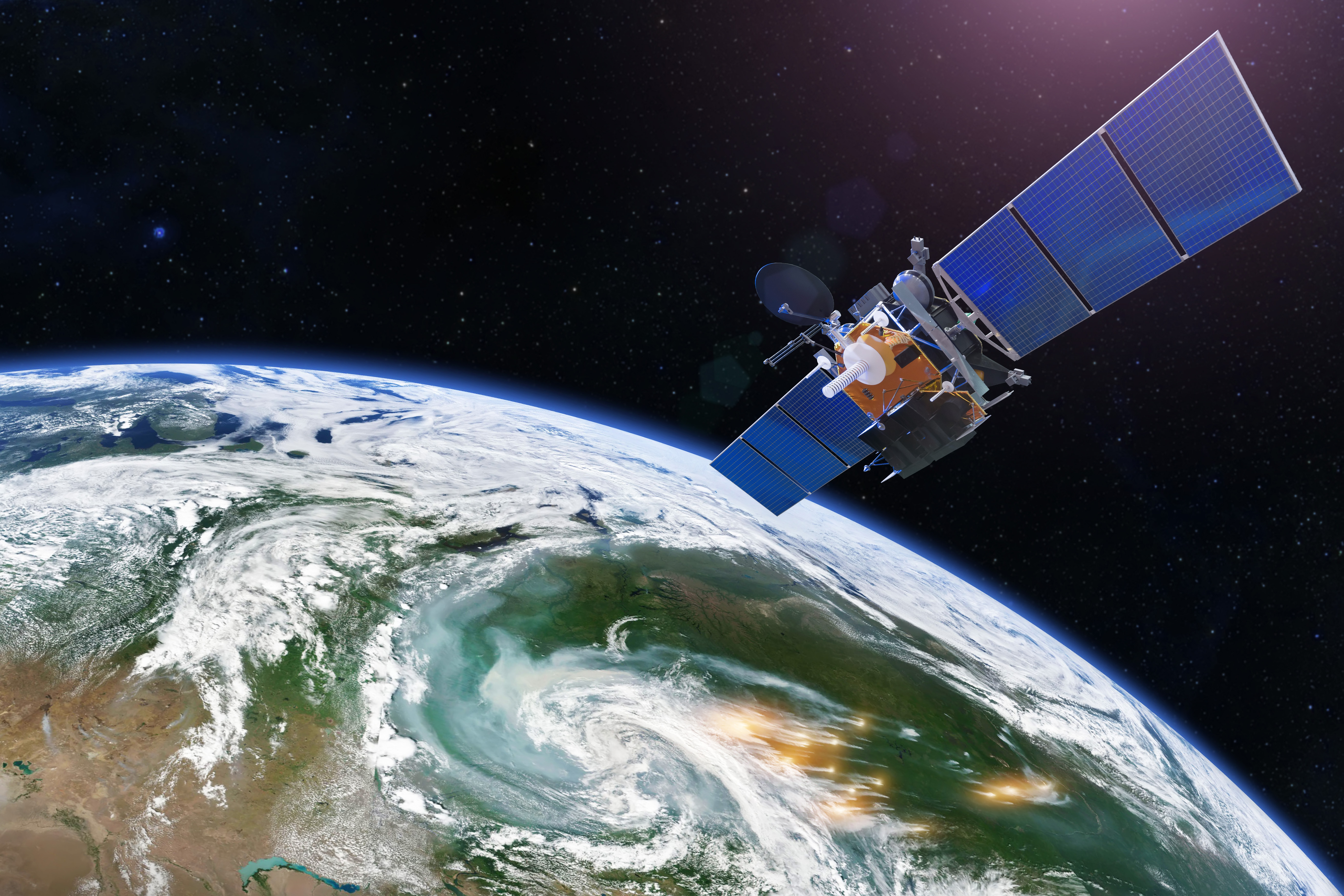 Remote Monitoring by Quantitative Analysis of Available Satellite Images